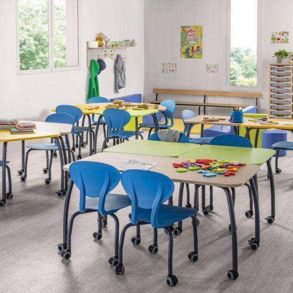 mobilier scolaire crèche Calais Haut De France